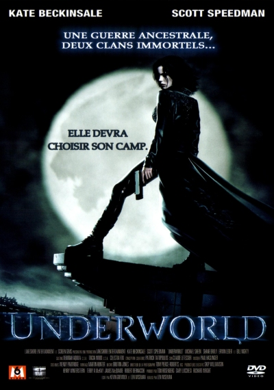 "Jaquette du DVD ""Underworld"""