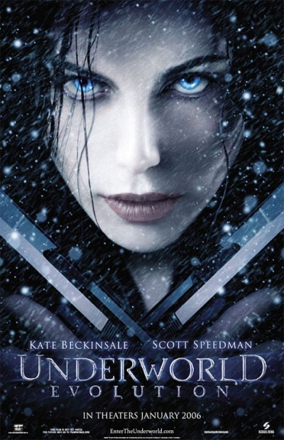 "Jaquette du DVD ""Underworld 2: Evolution"""